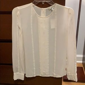 NWT Jcrew UK Limited Edition silk blouse